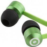 Наушники KitSound Ribbons green