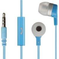Наушники KitSound Entry Mini mic blue