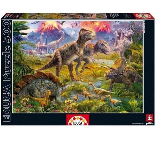 ≡ <b>Пазл Educa</b> Встреча динозавров (<b>EDU</b>-<b>15969</b>) – купить в ...