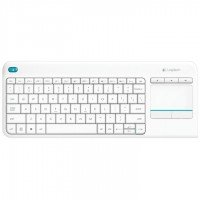 Клавиатура Logitech K400 Plus WL White (920-007148)