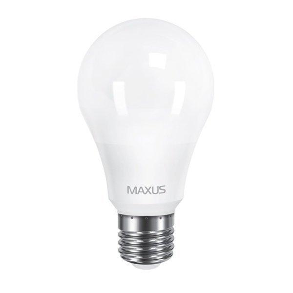 Світлодіодна лампа MAXUS A60 10W 3000K 220V E27 (1-LED-561)фото1
