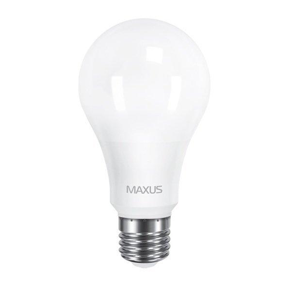 Светодиодная лампа MAXUS A65 12W 3000K 220V E27 (1-LED-563) фото 1