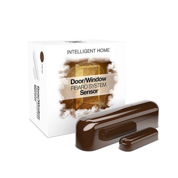 Купить Датчик открытия двери/окна шоколадный Fibaro Door/Window Sensor Dark chocolate