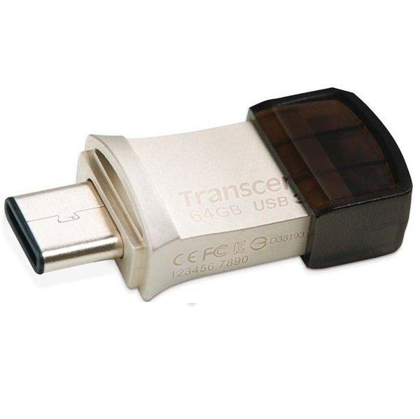 Накопичувач USB 3.1 TRANSCEND Type-C 890 64GB (TS64GJF890S) фото