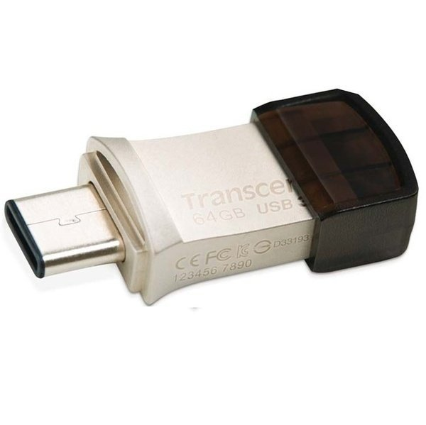 Накопитель USB 3.1 TRANSCEND Type-C 890 64GB (TS64GJF890S) фото