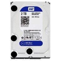 """Жесткий диск внутренний WD 3.5"""" SATA 3.0 2TB 5400rpm 64MB Blue (WD20EZRZ)"""