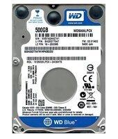 """Жорсткий диск внутрішній WD 2.5"""" SATA 3.0 0.5TB 5400rpm 16Mb Cache Blue 7mm (WD5000LPCX)"""
