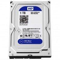 """Жорсткий диск внутрішній WD 3.5"""" SATA 3.0 1TB 5400rpm 64MB Blue (WD10EZRZ)"""