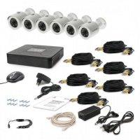 Комплект видеонаблюдения Tecsar AHD 6OUT