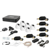 Комплект видеонаблюдения Tecsar AHD 6OUT-DOME