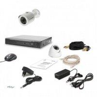 Комплект видеонаблюдения Tecsar AHD 2OUT LUX MIX