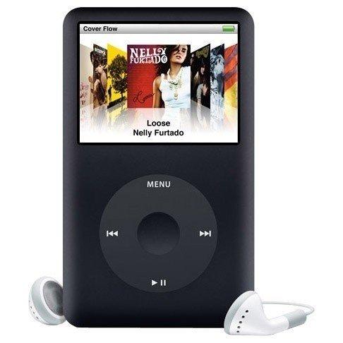 Мультимедіаплеєр APPLE iPod classic 120Gb black фото