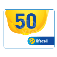 Ваучер lifecell 50грн.