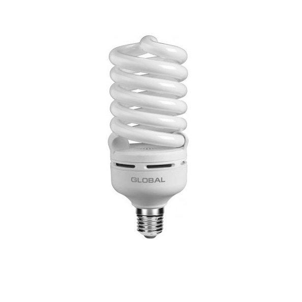 Энергосберигающая лампа GLOBAL High-wattage Spiral 46W, 6500K, E27 GLF (GFL-051-1) (GFL-051-1) фото