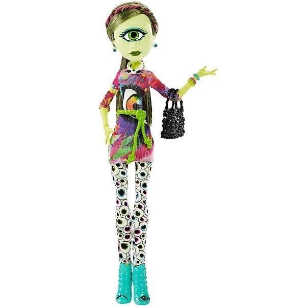 e46d9531e6a ≡ Кукла Monster High Айрис Клопc с набором одежды (CKD73) – купить ...