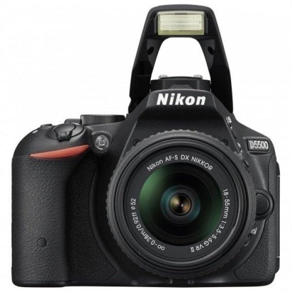 ≡ Фотоапарат NIKON D5700 18-55 VR II Black (VBA D5700) – купити в ... 569b70fb52e10