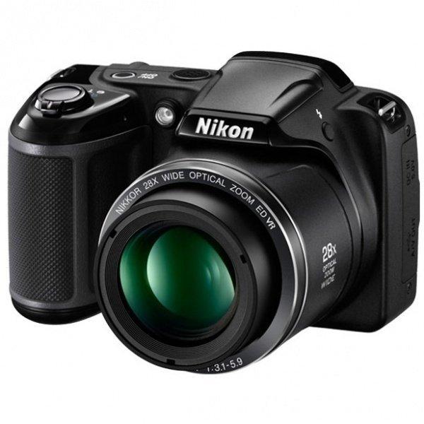 ≡ Фотоапарат NIKON Coolpix L350 Black (L350 Black) – купити в Києві ... 17afc32ba48e4
