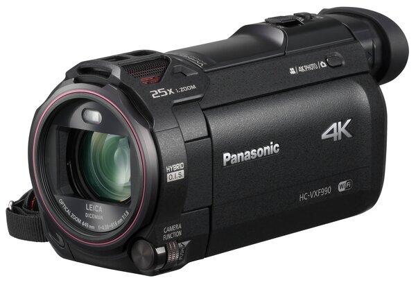 Видеокамера PANASONIC HC-VXF990 Black (HC-VXF990EE-K)