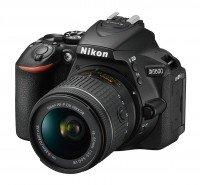 Фотоаппарат NIKON D5600 AF-P 18-55 VR Black (VBA500K001)