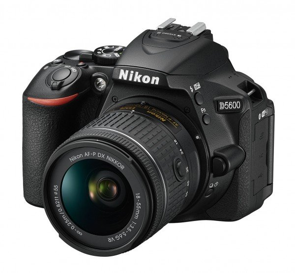Купить Фотоаппарат NIKON D5600 AF-P 18-55 VR Black (VBA500K001)