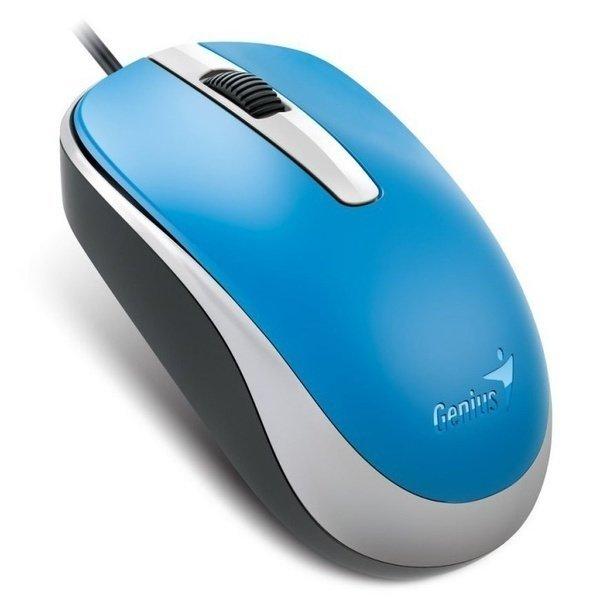 Миша Genius DX-120 USB Blue (31010105103) фото1