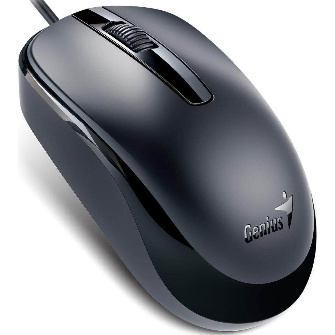 Миша Genius DX-120 USB Black (31010105100) фото1
