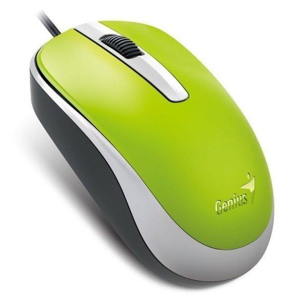 Миша Genius DX-120 USB Green (31010105105) фото