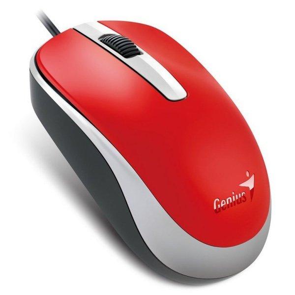 Купить Мышь Genius DX-120 USB Red (31010105104)