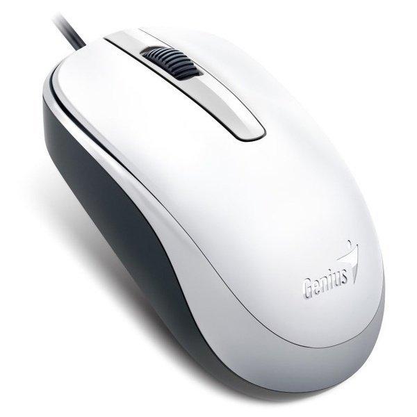 Миша Genius DX-120 USB White (31010105102) фото1