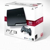 Игровая приставка SONY PlayStation 3 160Gb Slim + Blur