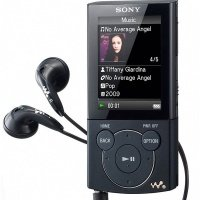 Мультимедиаплеер SONY Walkman E444 8Gb Black