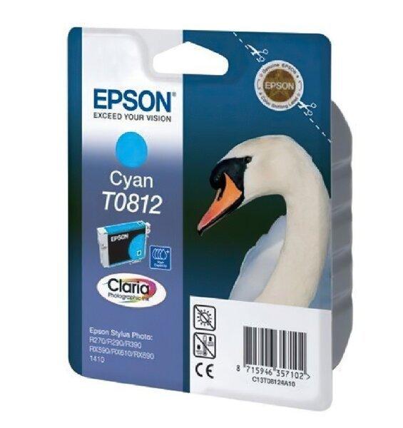 Акция на Картридж струйный EPSON StPhoto R270/R290/ cyan, 11мл (C13T11124A10) от MOYO