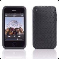 Чехол к iPod GEAR4 touch 2G силиконовый JumpSuit Grip (black&grey)