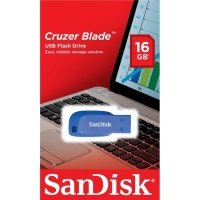 Накопичувач USB 2.0 SANDISK Cruzer Blade 16GB (SDCZ50C-016G-B35BE)