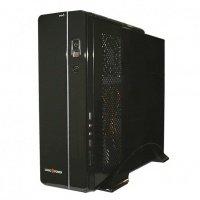 Корпус для ПК LOGICPOWER mini-ITX S601BS БП 400W Black / Silver (S601BS-400W)
