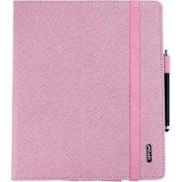 Чехол iPearl для планшета iPad New чехол-подставка розовая