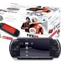 Игровая приставка SONY PlayStation Portable Black 3008 + FIFA 11