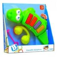 Музыкальная игрушка B kids Крокодил (7344)