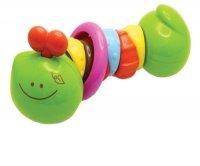 Развивающая игрушка B kids Разноцветная гусеничка (9085)