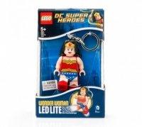 Брелок-фонарик LEGO Чудо-женщина (LGL-KE70)
