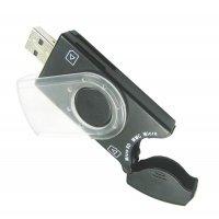 Кардридер Gembird USB все-в-одному FD2-ALLIN1-C1 (0907042)