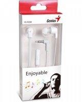 Навушники Genius HS-M260 Mic White
