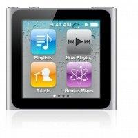 MP3 плеер APPLE iPod nano 16Gb Silver (6Gen) - 2010