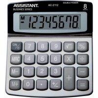 Калькулятор электронный Assistant 8-разрядный (AC-2112)