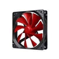 Вентилятор для корпуса Thermaltake Pure 12 C Red 120 мм (CL-F037-PL12RE-A)