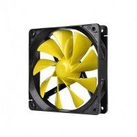 Вентилятор для корпуса Thermaltake Pure 12 C Yellow 120 мм (CL-F037-PL12YE-A)