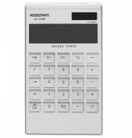 Калькулятор електронний Assistant 12-розрядний (AC-2326 white)