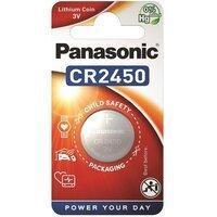 Батарейка Panasonic CR 2450 BLI 1 LITHIUM