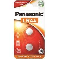 Батарейка Panasonic LR44 BLI 2