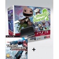Игровая приставка SONY PlayStation 3 320Gb + LittleBigPlanet 2 + Transformers: WOC